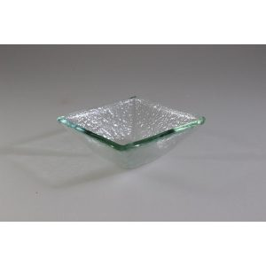 SALAD BOWL CLEAR 9 x 9cm / 3.5cm DEEP (6)