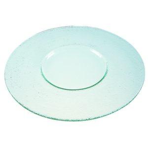 STARTER / DESSERT GLASS SHOW PLATE - 32cm (3)