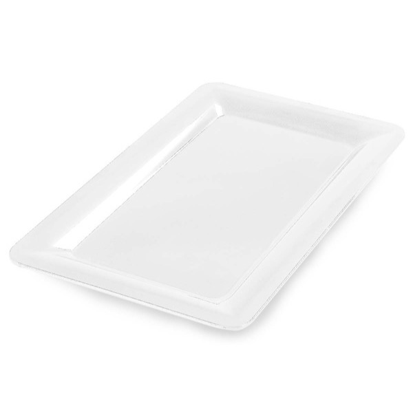 BUFFET PLATTER RECTANGULAR - 355 X 255mm (WHITE)