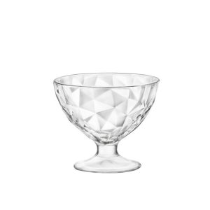 DIAMOND DESSERT BOWL 36cl (6) H99mm W115mm
