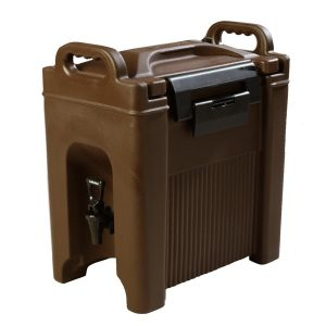 BEVERAGE SERVER INSULATED - 19Lt (BROWN) 9.07kg - 266 x 430 x 654mm