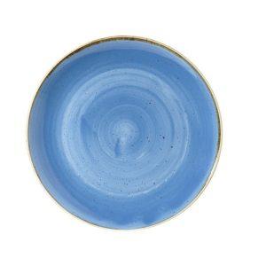 CORNFLOWER BLUE - COUPE PLATE - 16.5cm (12)
