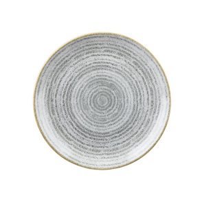 STONE GREY - COUPE PLATE - 16.5cm (12)