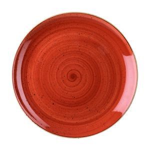 SPICED ORANGE - COUPE PLATE - 16.5cm (12)