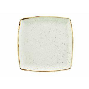 BARLEY WHITE - DEEP SQUARE PLATE - 26.8cm (6)