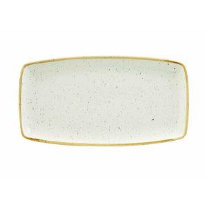 BARLEY WHITE - OBLONG PLATE - 29.5 x 15cm (12)