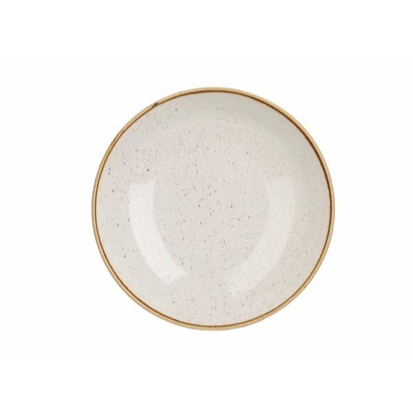 BARLEY WHITE - LARGE COUPE BOWL - 31cm (6)