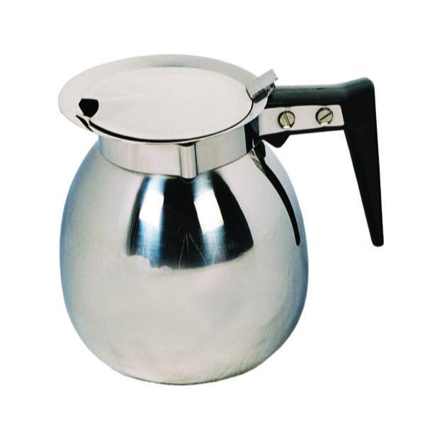 COFFEE DECANTER S/STEEL & LID - 2Lt