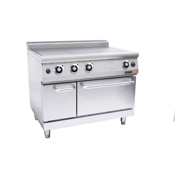 ANVIL 3 PLATE STOVE WITH OVEN - GAS