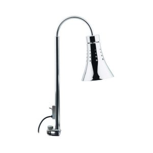 DOMINO HEATING LAMP WITH CLAMP (BULB NOT INCLUDED) 176 x 350 x 657mm