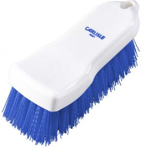 HAND SCRUB BRUSH POLYESTER - 150mm (BLUE)