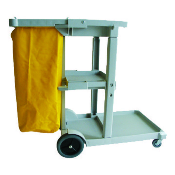 JANITOR TROLLEY PLASTIC 1140 x 510 x 980mm