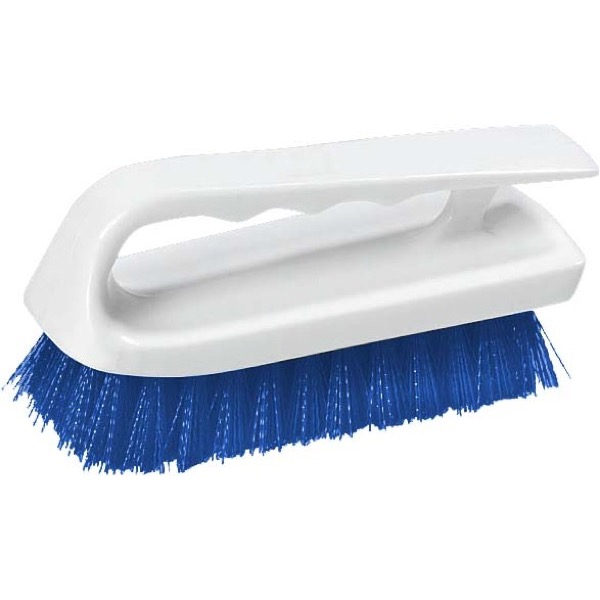 LIP SCRUB BRUSH POLYESTER - 150MM - (BLUE)