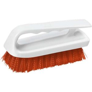 LIP SCRUB BRUSH POLYESTER - 150MM - (RED)