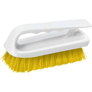 LIP SCRUB BRUSH POLYESTER - 150MM - (YELLOW)