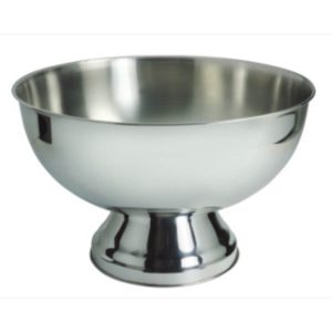 PUNCH BOWL S/STEEL - 340mm