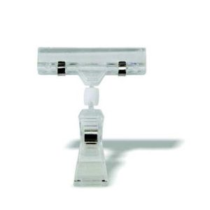 PLASTIC DISPLAY CLIP - SUCTION BASE - (SOLD IN PACKS OF 12)