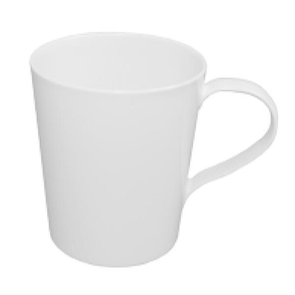 COFFEE / TEA MUG (WHITE) POLYCARBONATE - 300ml