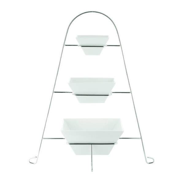 3-TIER SQUARE BOWL STAND 140 x 120mm (1)