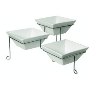 TRIPLE SQUARE PLATE STAND 3 x 172mm/120/180/240 (1)
