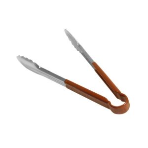 COLOURED UTILITY TONGS (BROWN) - 300MM
