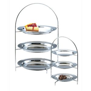 TEA STAND 'BRISTOL' - 3 TIER (140mm TRAYS)