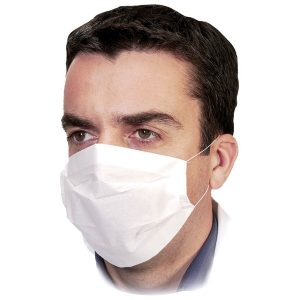 DISPOSABLE PAPER FACE MASK - PACKS OF 100