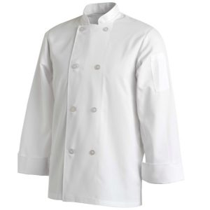 CHEFS UNIFORM JACKET BASIC LONG - MEDIUM