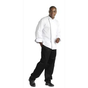 CHEFS UNIFORM JACKET EXECUTIVE MEN LONG - MEDIUM