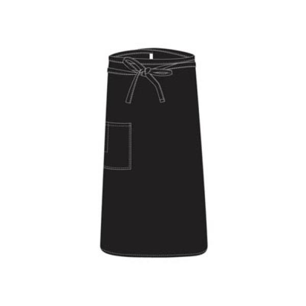 CHEFS UNIFORM - BISTRO BLACK APRON