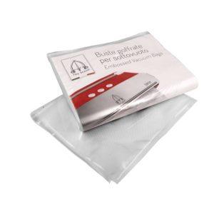 VACUUM PACK BAGS - EMBOSSED - 15 x 25cm [PACK OF 50]