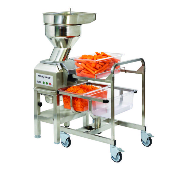 VEG PREP MACHINE - CL60 WITH AUTOMATIC FEED HEAD (3000 SERVINGS)