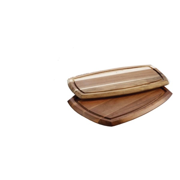 WOODEN SERVING BOARD REVERSIBLE 180 x 360 x 20mm